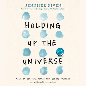 holding up the universe audiobook